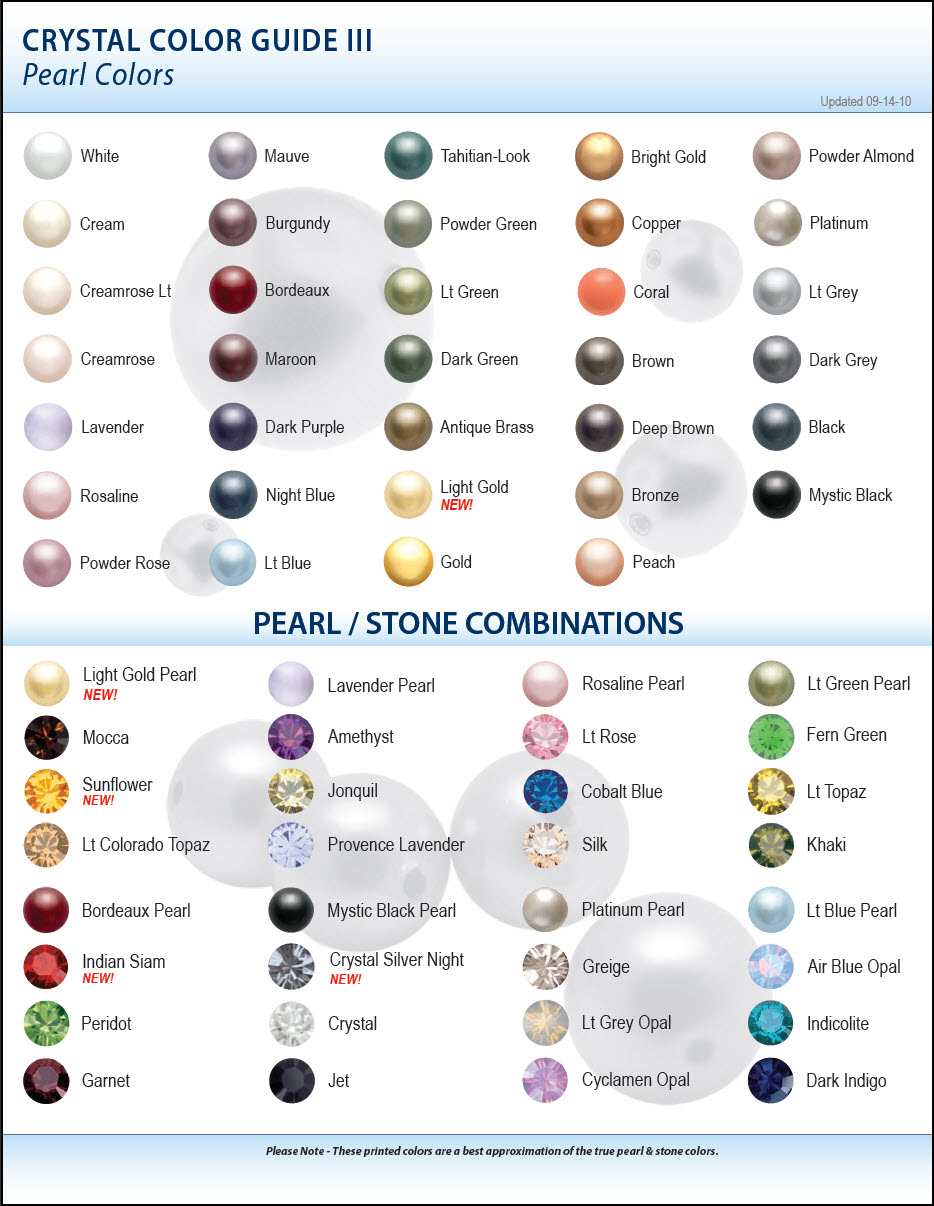 Online color chart - These