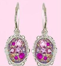 Make your own stunning earrings with DeCoRe Crystal Clay!