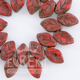 Czech Leaf Beads