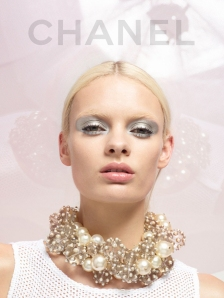 Chanel Spring 2013 pearl necklace.