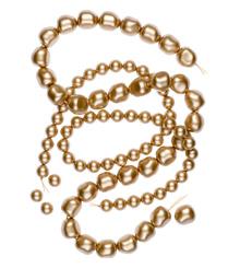 Crystal Vintage Gold Pearl