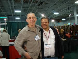 Our good friend, the very talented Fernando Da Silva with Walter at Beadfest.