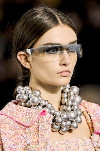 Exuberant pearl necklace for Spring 2013 from Chanel.