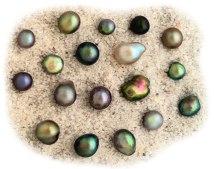 Natural pearl variations