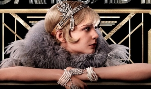 Carrie Mulligan as Daisy in The Great Gatsby.
