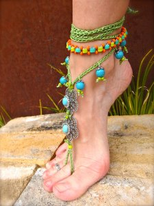 Trend Watch: Beaded Barefoot Sandals