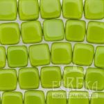 Olivine Opaque Two Hole Tiles