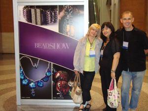 Bonita, Val and Walter at Bead & Button 2013