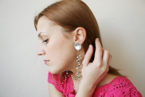 bling earrings 1