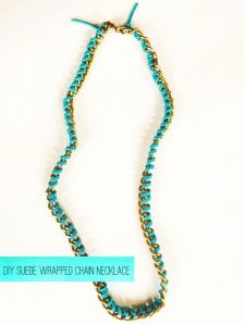 DIY-Suede-Wrapped-Chain-Necklace