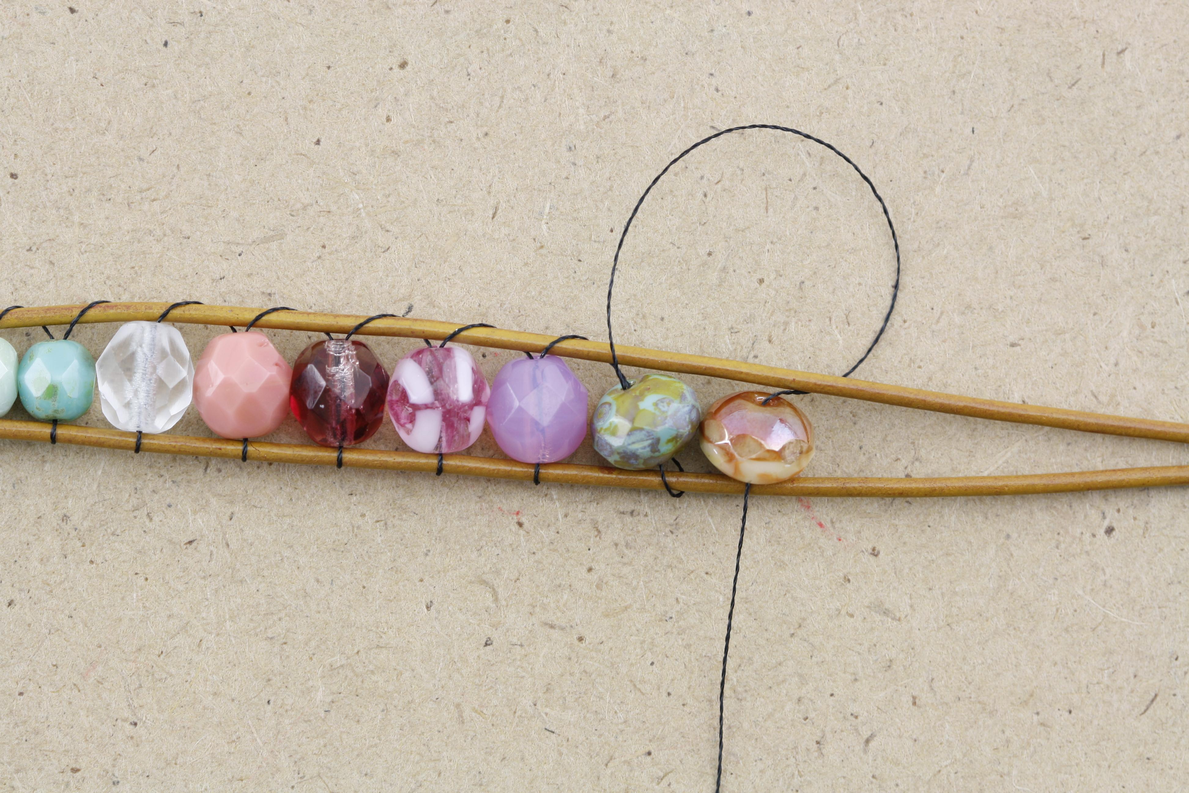diy chan luu style bohemian wrap bracelet eureka crystal