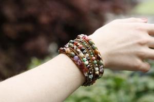 DIY Chan Luu Style Bohemian Wrap Bracelet - 2015