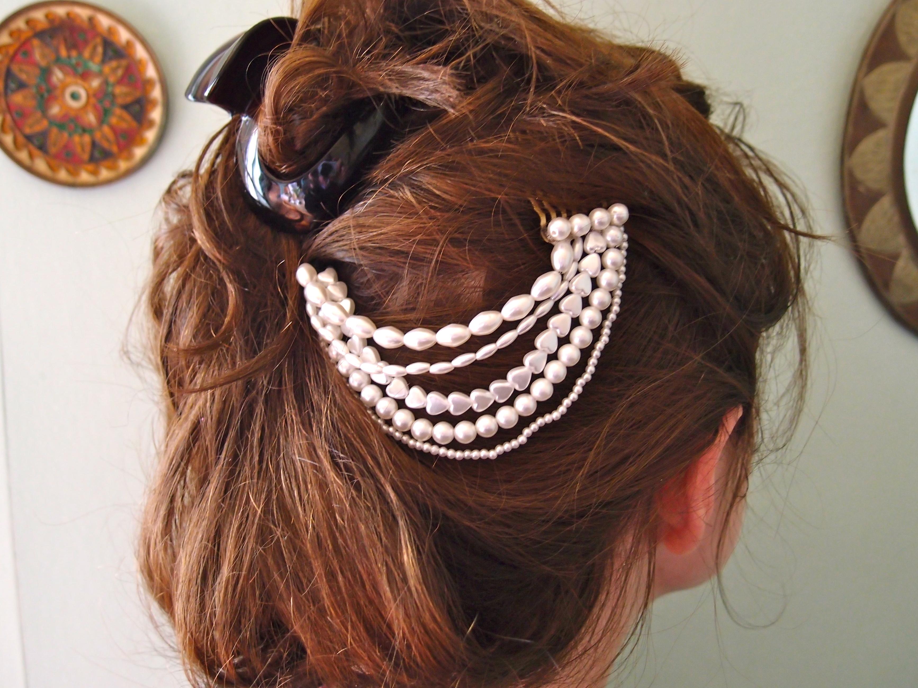 Как сделать украшение для волос