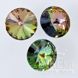 tabac swarovski special finish custom coating eureka crystal beads