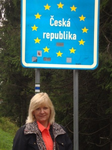 Bonita at the border of the Czech Republic