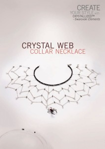 CrystalWebCollar Necklace-1