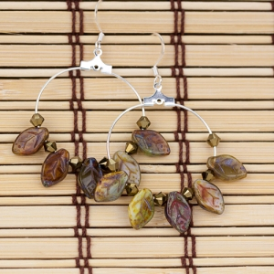 leaf-earrings