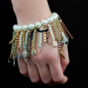 saintlaurent05 fringe bracelet diy