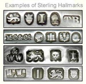 steriling silver hallmark