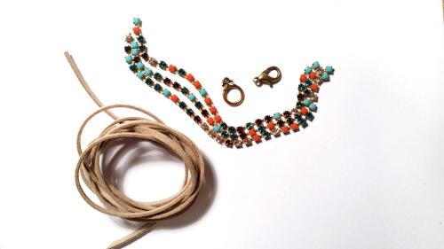 eureka crystal beads bracelet rhinestone tutorial diy beginners jewelry making