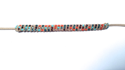 3mm rhinestone cup chain bracelet diy tutorial suede lace eureka crystal beads