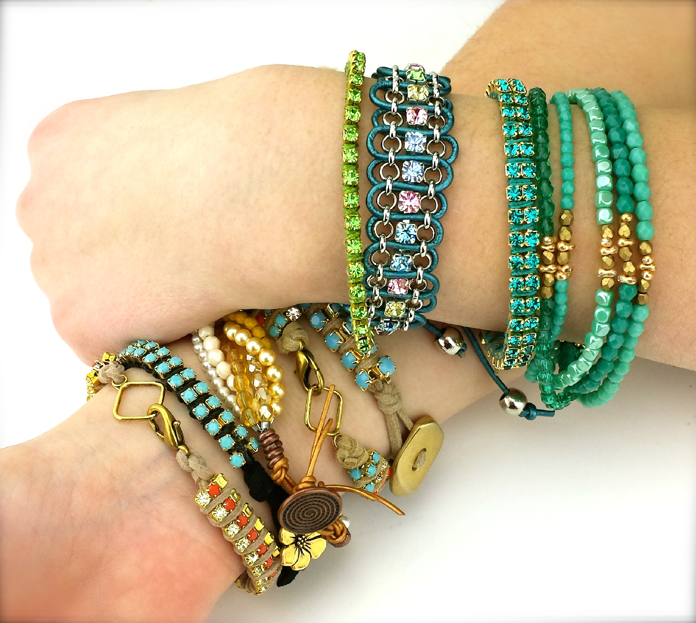 beaded bracelets eureka crystal beads blog. Black Bedroom Furniture Sets. Home Design Ideas