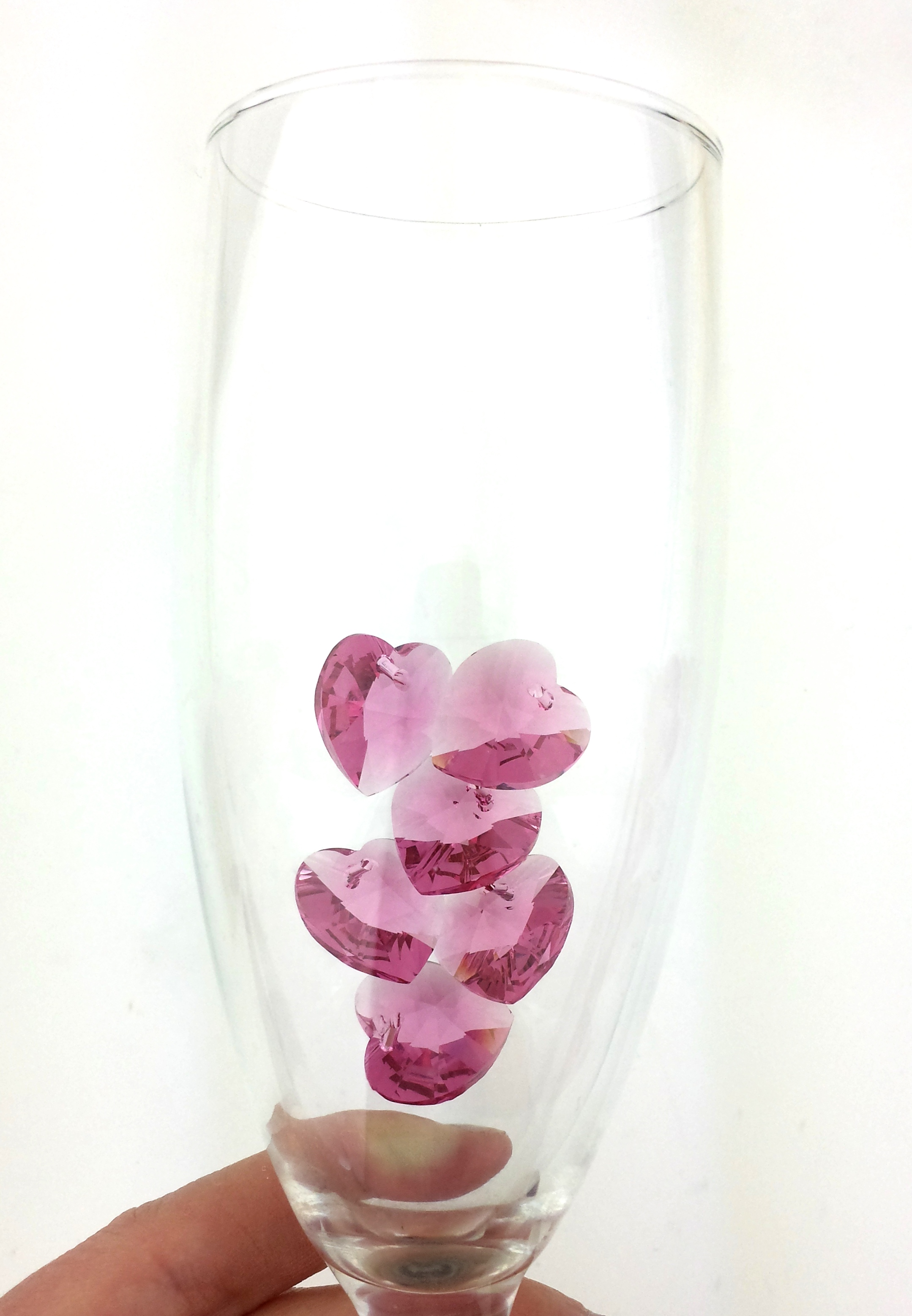 swarovski crystal heart pendants jewelry projects diy eureka crystal beads - Valentine Day Jewelry Sales