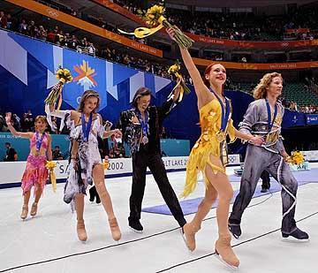 OLYMPICS FIGURE SKATING