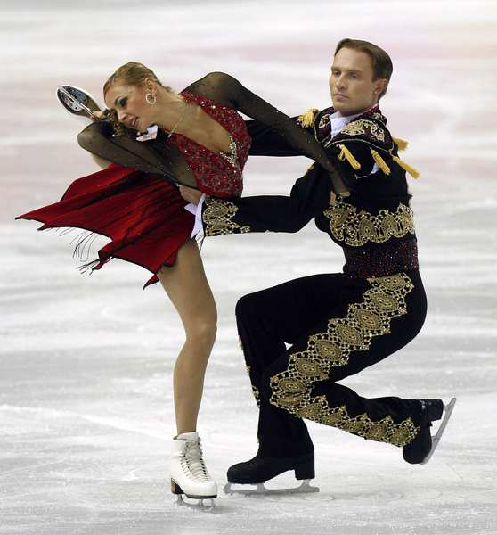 Olympic skater costumes