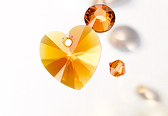 swarovski innovations tangerine 2015 new color eureka crystal beads