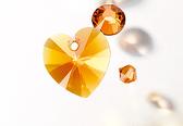 swarovski innovations tangerine 2015 new color eureka crystal beads