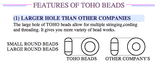 toho japanese seed beads glass crystal jewelry beading diy projects