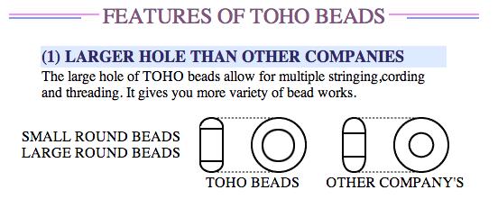 toho japanese seed beads glass crystal jewelry beading diy projects
