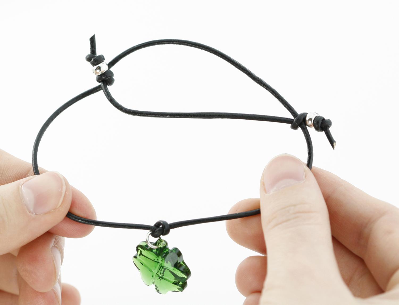 Two knot cord charm bracelet 2015 eureka crystal beads blog 4c baditri Image collections