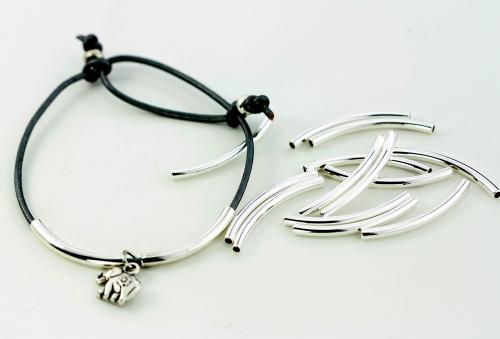 sliding knot diy cord bracelet