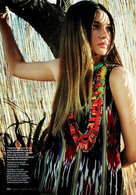 beading bohemian ethnic fashion DIY jewelry
