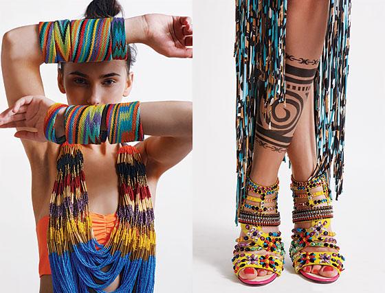 ethnic beading trend
