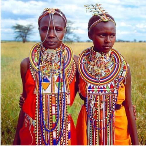 kenyan ethnic tribal maasai beading trends