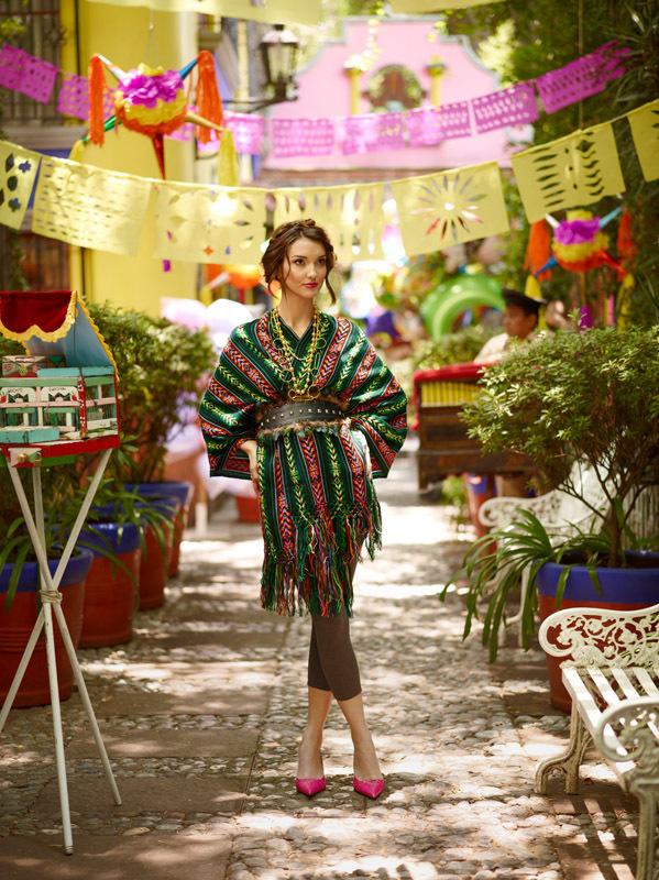 Mexican Fashion Editorial Eureka Crystal Beads Blog
