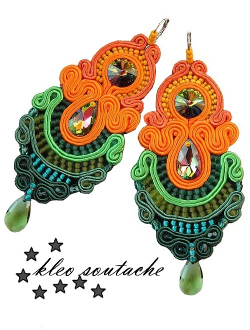 kleo soutache earrings galapagos
