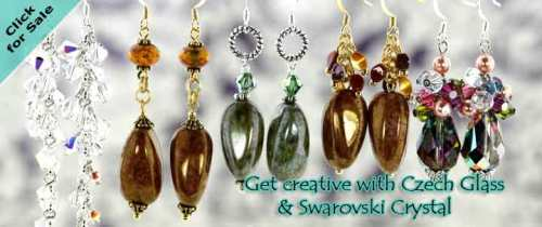 eureka crystal beads wholesale beading diy sale earrings trends projects