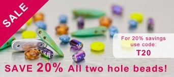 20%TwoHoleBeads