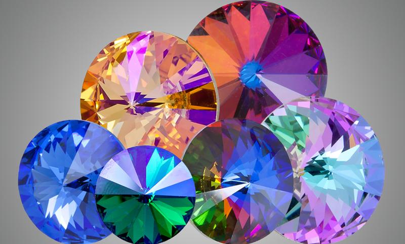 Swarovski Crystal Rivolis And Chatons How Are They