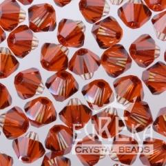 swarovski crystal red magma marsala pantone color style jewelry
