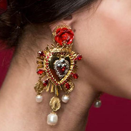 Earring-red