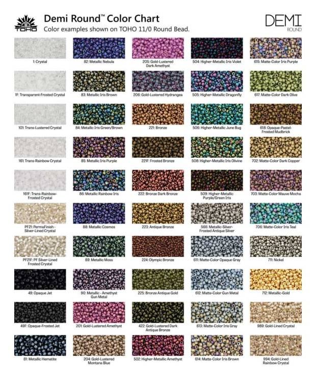 Demi-Color-Chart