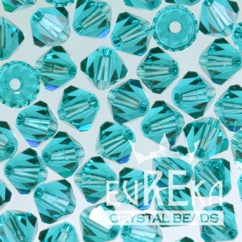 Blue Zircon Swarovski Crystal Bicones
