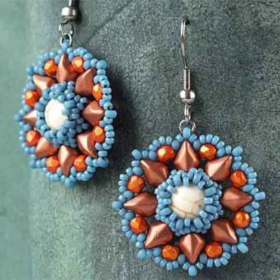 Primrose-earrings