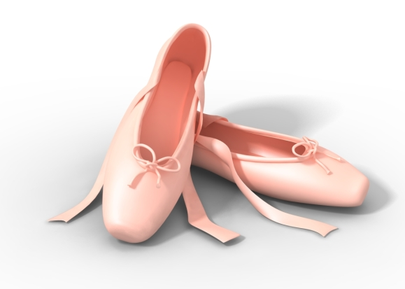 ballet slipper pink blog