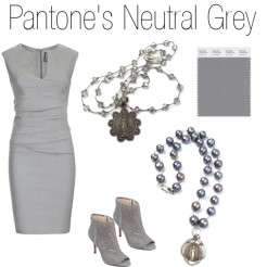 neutral gray blog